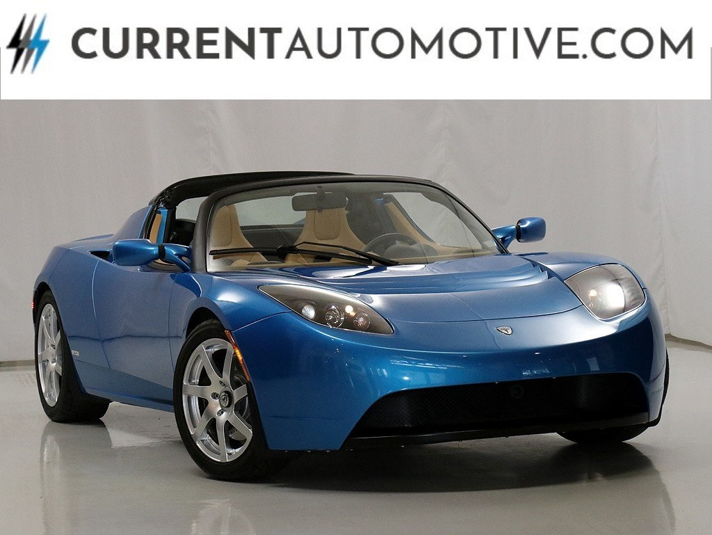 Pre Owned Tesla >> Pre Owned 2010 Tesla Roadster Sport With Navigation