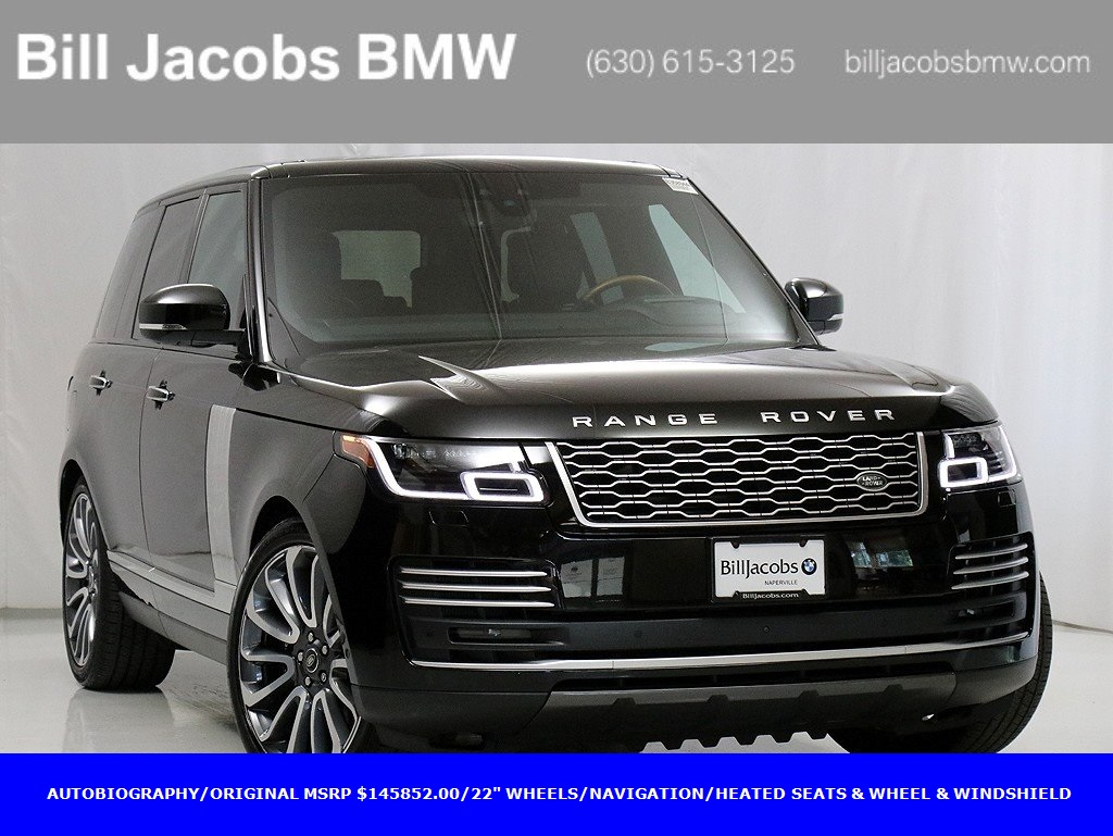 Pre-Owned 2018 Land Rover Range Rover 5.0L V8 Supercharged Autobiography