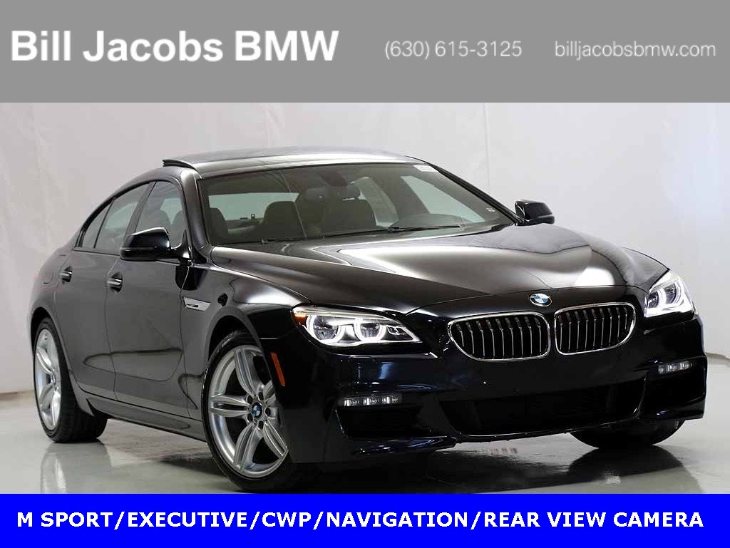Certified Pre Owned 2016 Bmw 6 Series 640i Xdrive Gran Coupe